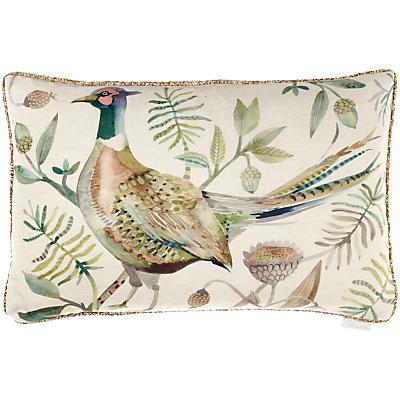 Voyage Pheasant Cushion, Autumn