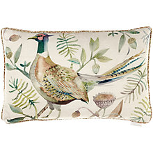 Buy Voyage Pheasant Cushion, Autumn Online at johnlewis.com