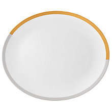 Buy Vera Wang for Wedgwood Vera Castillon 35cm Oval Platter Online at johnlewis.com