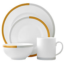 Buy Vera Wang for Wedgwood Castillion Place Setting, 4 Piece Online at johnlewis.com