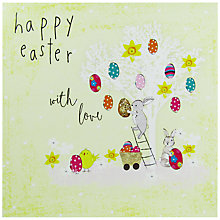 Buy Hammond Gower Easter Egg Tree Greeting Card Online at johnlewis.com