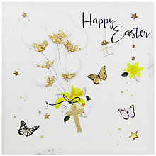 Buy Hammond Gower Cross & Balloons Easter Greeting Card Online at johnlewis.com