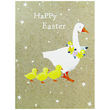 Buy Hammond Gower Goose & Chicks Easter Greeting Card Online at johnlewis.com