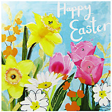 Buy Hammond Gower Easter Floral Greeting Card Online at johnlewis.com
