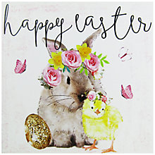 Buy Hammond Gower Bunny & Chick Easter Greeting Card Online at johnlewis.com
