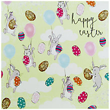 Buy Hammond Gower Bunnies & Balloons Easter Greeting Card Online at johnlewis.com