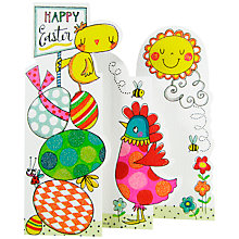 Buy Rachel Ellen Eggs, Chick & Chicken Greeting Card Online at johnlewis.com