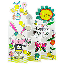 Buy Rachel Ellen - Bunny, Chicks & Flowers Easter Greeting Card Online at johnlewis.com