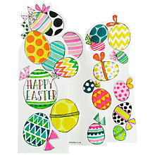Buy Rachel Ellen Eggs Easter Greeting Card Online at johnlewis.com