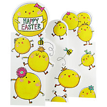 Buy Rachel Ellen Easter Chicks Greeting Card Online at johnlewis.com
