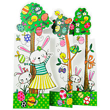 Buy Rachel Ellen Egg Trees & Bunnies Easter Greeting Card Online at johnlewis.com