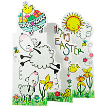Buy Rachel Ellen - Lamb & Daffodils Easter Greeting Card Online at johnlewis.com