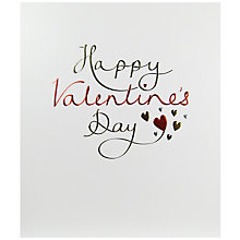 Buy Paperlink Happy Valentine's Valentine's Day Card Online at johnlewis.com
