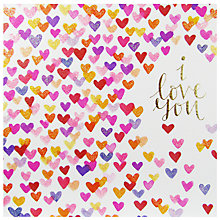 Buy Rachel Ellen Many Hearts Valentine's Day Card Online at johnlewis.com