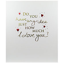 Buy Paperlink Any Idea Valentine's Day Card Online at johnlewis.com