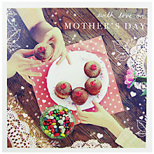 Buy Woodmansterne Donuts And Sweets Mother's Day Card Online at johnlewis.com
