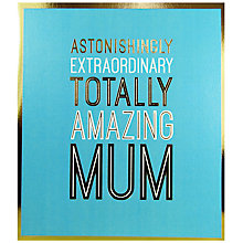 Buy Pigment Amazing Mum Mother's Day Card Online at johnlewis.com