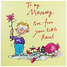 Buy Woodmansterne Little Boy Mother's Day Card Online at johnlewis.com