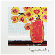 Buy Woodmansterne Yellow Flowers Mother's Day Card Online at johnlewis.com