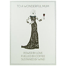 Buy Five Dollar Shake Wonderful Mum Mother's Day Card Online at johnlewis.com