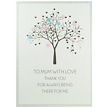 Buy Five Dollar Shake To Mum With Love Mother's Day Card Online at johnlewis.com