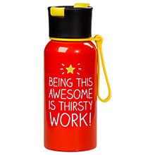 Buy Happy Jackson Awesome Thirsty Work Bottle Online at johnlewis.com