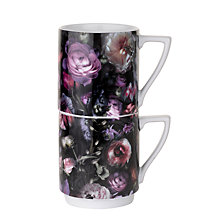 Buy Ted Baker Portmeirion Stacking Mugs, Set of 2 Online at johnlewis.com