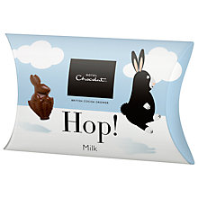 Buy Hotel Chocolat Milk Chocolate 'Hop!' Easter Bunnies, 25g Online at johnlewis.com
