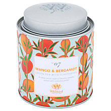 Buy Whittard Mango & Bergamot Loose Leaf Green Tea & Caddy, 100g Online at johnlewis.com