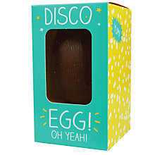 Buy Happy Jackson 'Yay! Chocolate Time' Milk Chocolate Easter Egg, 120g Online at johnlewis.com