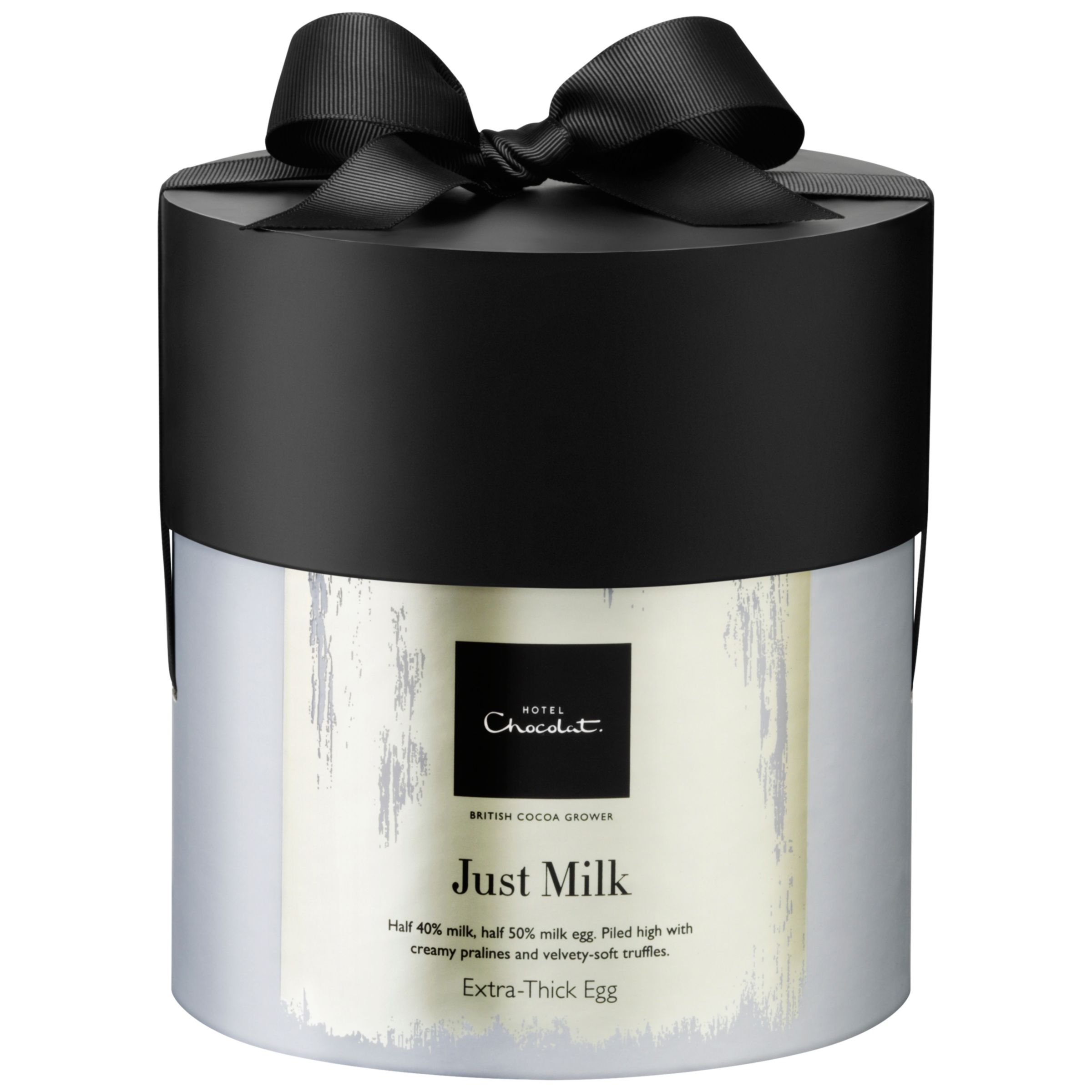 Hotel Chocolat Hotel Chocolat 'Just Milk' Extra-Thick Easter Egg, 390g