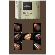 Buy Hotel Chocolat 'Egglet H-box', Box of 15, 180g Online at johnlewis.com