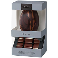 Buy Hotel Chocolat Hard Boiled 'Brownie' Milk Chocolate Easter Egg, 220g Online at johnlewis.com