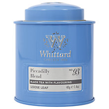 Buy Whittard Piccadilly Blend Loose Leaf Tea & Caddy, 40g Online at johnlewis.com