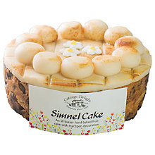 Buy Cottage Delight Simnel Cake, 550g Online at johnlewis.com