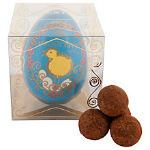 Buy Prestat Paper Easter Egg Filled With Sea Salt Caramels, 75g Online at johnlewis.com