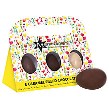 Buy Montezuma Caramel Filled Dark Chocolate Eggs, Box of 3, 150g Online at johnlewis.com