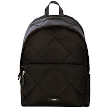 "Buy Knomo Bathurst Quilted Backpack for 14"" Laptops Online at johnlewis.com"