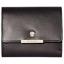 Buy Modalu Margot Leather Small Dropdown Purse Online at johnlewis.com