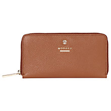Buy Modalu Pippa Leather Zip Around Wallet Purse Online at johnlewis.com