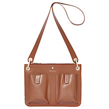 Buy Modalu Carter Leather Shoulder Bag Online at johnlewis.com