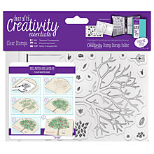 Buy Docrafts A6 Tree and Leaf Stamps, Pack of 30, Clear Online at johnlewis.com