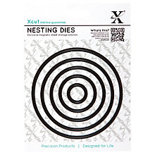 Buy Docrafts Xcut Nesting Circle Dies, Pack of 5 Online at johnlewis.com