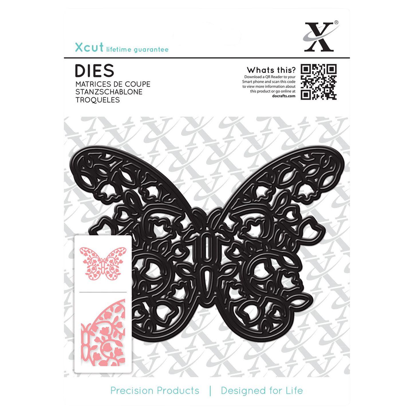 DoCrafts Docrafts Xcut Filigree Butterfly Die
