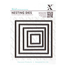 Buy Docrafts Xcut Nesting Square Dies, Pack of 5 Online at johnlewis.com
