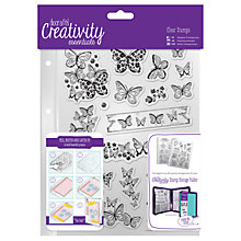 Buy Docrafts A5 Butterfly Stamps, Pack of 16, Clear Online at johnlewis.com