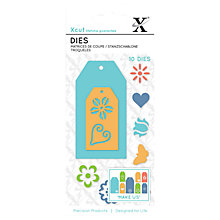 Buy Docrafts Xcut Small Floral Tag Dies, Pack of 10 Online at johnlewis.com