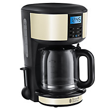 Buy Russell Hobbs Legacy Filter Coffee Maker, Cream Online at johnlewis.com