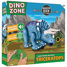 Buy Dino Zone Remote Control Inflatable Triceratops Online at johnlewis.com