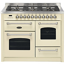 Buy Britannia Fleet RC-11XGG-FL Dual Fuel Range Cooker Online at johnlewis.com